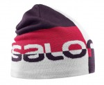 CZAPKA SALOMON GRAPHIC BEANIE 395099 WHITE
