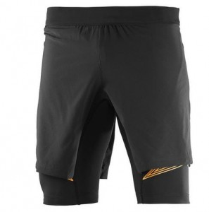 SPODENKI MĘSKIE SALOMON INTENSITY TW SHORT M 392668 BLACK